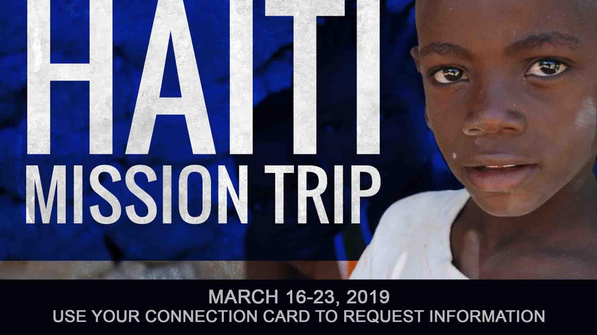Come to Haiti
