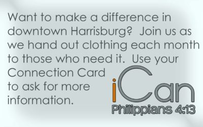 Volunteer with iCan this month